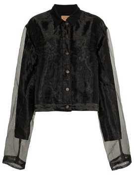 Organza Denim Jacket by Y / Project