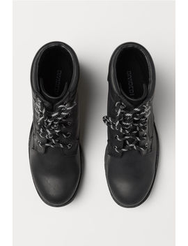 Boots Med Kraftig Sål by H&M