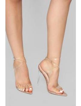 Coming Through Heeled Sandal   Rose Gold by Fashion Nova