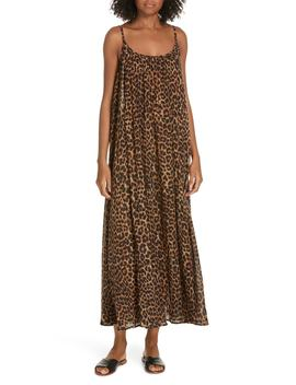 Fetiche Leopard Print Maxi Dress by Mes Demoiselles