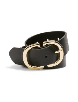 Logo Belt by Topshop