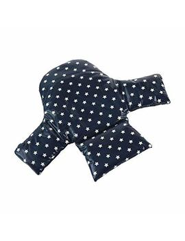 Messy Me High Chair Insert   Wipe Clean Ikea Antilop Cushion. Mealtime Baby Seat Support   Navy Stars by Messy Me