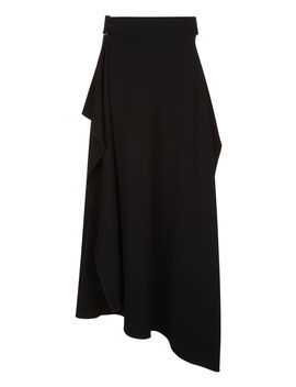 Sybil Fluid Twill Skirt by Joseph