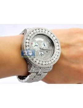Joe Rodeo Master Piece 52.00 Ct Diamond Mens Watch by 24diamonds