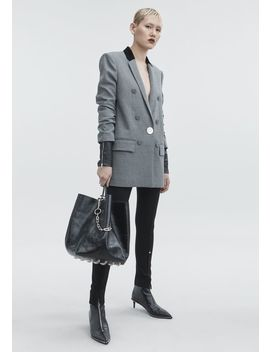 Houndstooth Blazer by Alexander Wang