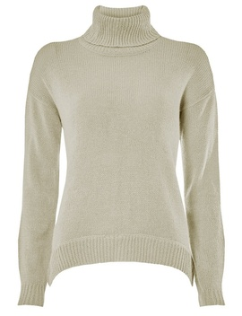 **Vero Moda Grey Roll Neck Jumper by Dorothy Perkins