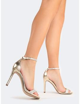 Ankle Strap Heel by Zooshoo