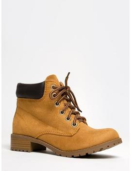 Lace Up Combat Boots by Zooshoo