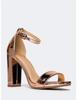 Ankle Strap Heels by Zooshoo
