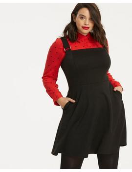 Ponte Pinafore by Simply Be