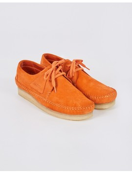 Suede Weaver Orange by The Idle Man