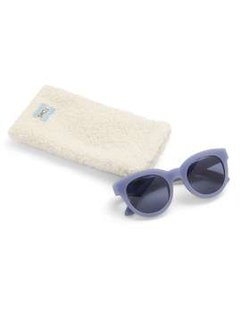 Traveler By Toms Florentin Matte Infinity Blue Solid Indigo Lens by Toms