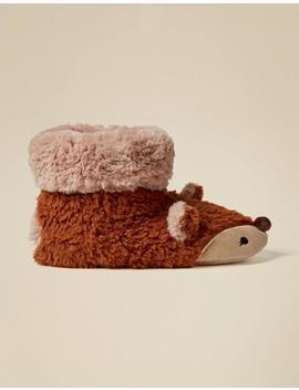 Felicity Fox Slipper Boots by Fat Face