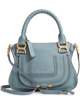 small-marcie-calfskin-leather-satchel by chloÉ