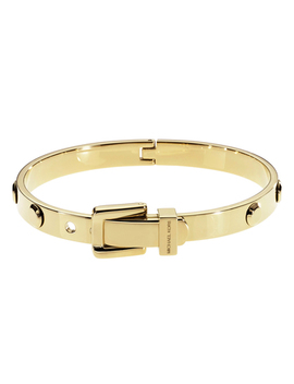 Michael Kors Astor Gold Buckle Bangle by Beaverbrooks