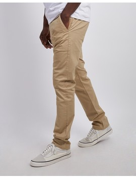 Elm Chino Twill Tan by The Idle Man