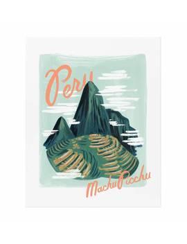 Bon Voyage Peru by Rifle Paper Co.