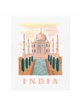 Bon Voyage India by Rifle Paper Co.