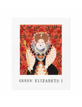 Queen Elizabeth I by Rifle Paper Co.