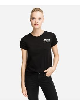 K/Ikonik Pocket T Shirt by Karl Legerfeld