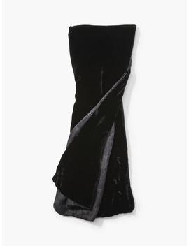 Velvet Printed Scarf by John Varvatos