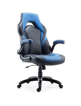 Staples Gaming Chair, Black And Blue by Staples