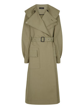 Damon Trench Cotton Coat by Joseph