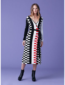 Enzo Wrap Dress by Dvf