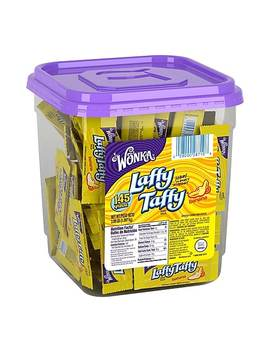 Laffy Taffy Banana Tub, 145 Count by Laffy Taffy