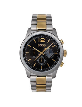 Hugo Boss Gold Tone And Stainless Steel Chronograph Men's Watch by Beaverbrooks