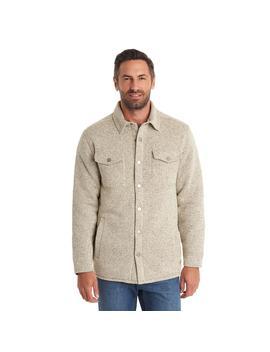 Sweater Fleece Shirt Jacket by G.H.Bass & Co.