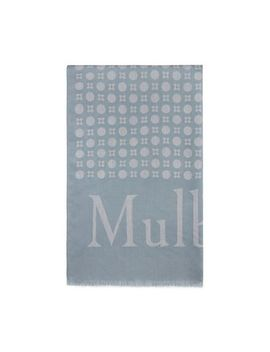 Retro Jacquard Scarf by Mulberry