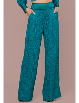Claire Wide Leg Pants by Bebe