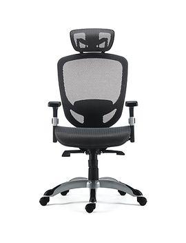 Staples® Hyken™ Technical Mesh Task Chair, Grey by Staples
