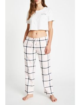 Fretherne Check Flannel Lounge Pants by Jack Wills