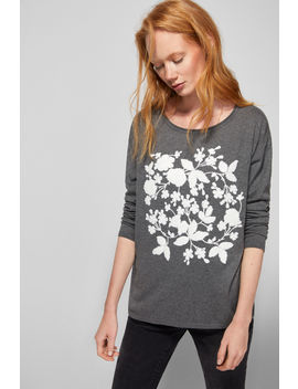BouclÉ Embroidered Floral Jumper by Springfield