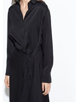 Tie Front Shirt Dress by Vince