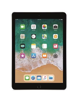 "New Apple 9.7"" I Pad With Wi Fi, 128 Gb, Space Gray (6th Gen) by Apple"