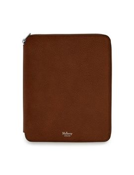 A5 Notebook Zip Around Cover by Mulberry