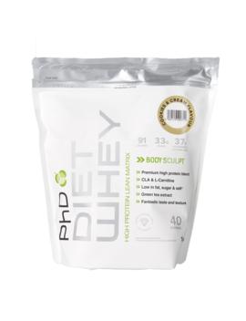 Ph D Diet Whey Powder Cookies & Cream 1000g by Ph D Diet Whey Powder Cookies & Cream 1000g