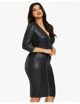 Glitter Curve Control Shaper Dress by Simply Be