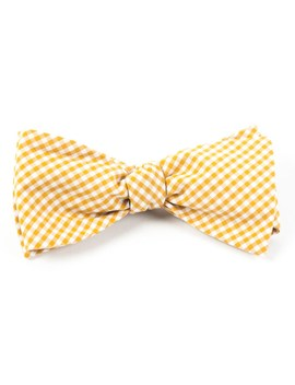 Petite Gingham Bow Tie by The Tie Bar