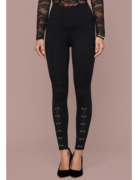 Haley Hook &Amp; Eye Leggings by Bebe