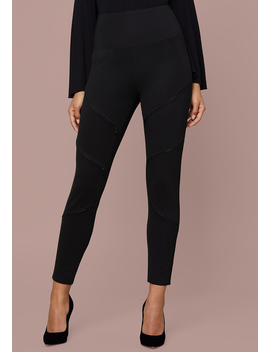 Zip Detail Leggings by Bebe