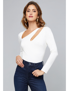Alexandra Cutout Bodysuit by Bebe