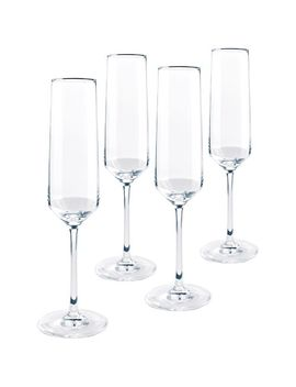 pure-4-piece-champagne-flute-set by schott-zwiesel-collection