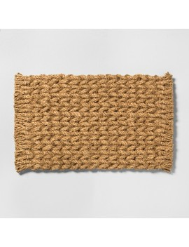 """18""""-x-30""""-door-mat-braided-coir---hearth-&-hand-with-magnolia by shop-this-collection"""