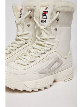 Women's Disruptor Shearling by Fila