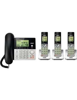 Vtech (Cs6949 3) 3 Handset Corded/Cordless Phones With Answering System by Staples