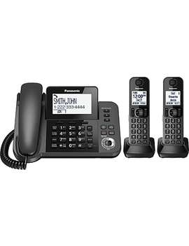 Panasonic Digital Corded/Cordless Phone With Answering System And 2 Handsets (Kxtgf352 M) by Staples